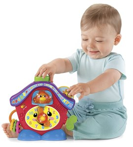 Развивающая игрушка Часы с кукушкой, Fisher-Price