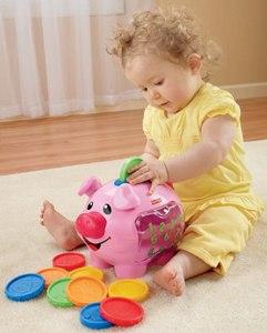 Развивающая игрушка Свинка-копилка, Fisher Price